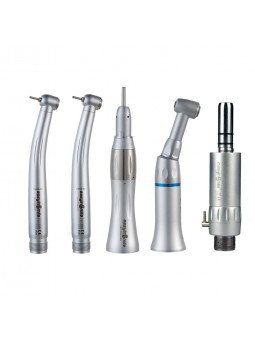 star dental handpieces 2 high speed push button handpiece Panamax with 1 Low speed handpiece kit ESKAMK1024-P