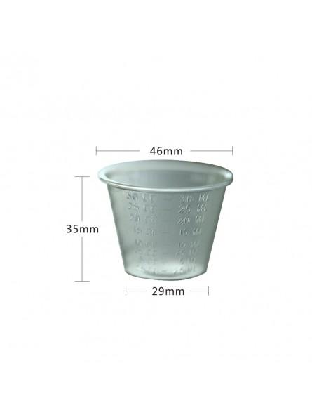 Easyinsmiel Disposable MEDICINE CUP 1oz(30ml) Box of 500PCS